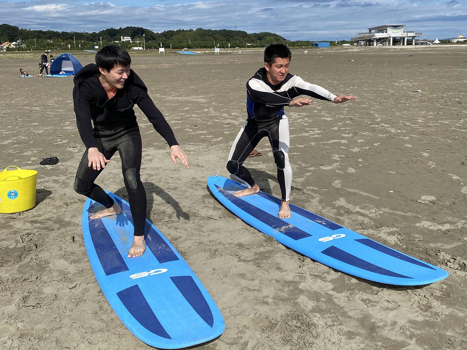 サーフィンの上達1